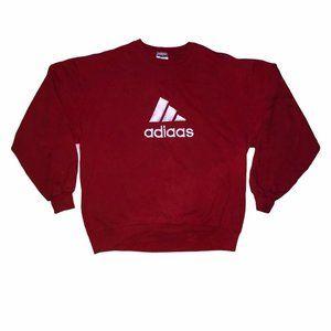 vintage bootlegged adidas sweatshirt